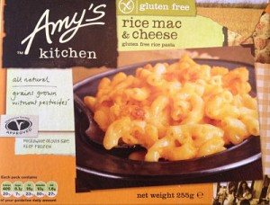 Amy's gluten free Mac & cheese