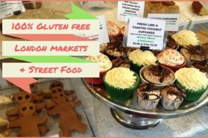London 100% gluten free street food & market stalls