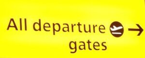 Airport departure sign_opt