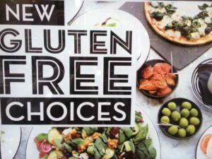 Pizza Express - announcing Gluten Free!