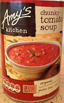 Amy's kitchen tomato soup gluten free