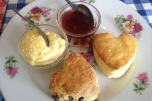 Gluten free cream tea in Torquay & Brixham