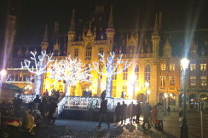 Bruges Christmas markets – tricky for a coeliac