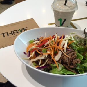 Thrive gluten free - Thr1ve is a fresh fast food store based on paleo principles and is 100% gluten free. Melbourne, Sydney, Brisbane, Canberra (Australia)