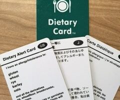 Gluten free translation cards – a travel essential