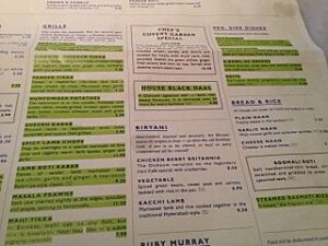 Dishoom menu_opt