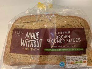 M&S gluten free brown bread