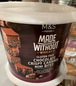 M&S gluten free biscuits