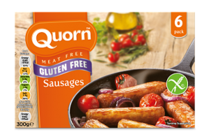 Quorn gluten free products for vegetarians
