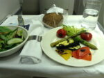 British Airways gluten free plane food