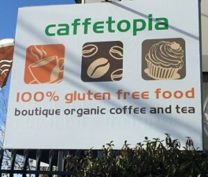 Caffetopia 100% gluten free cafe Warrnambool
