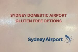 Sydney airport gluten free (domestic)