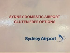 sydney airport gluten free options
