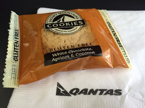 Qantas gluten free meals - domestic flights - The Coeliac
