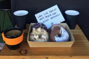 Nutie gluten free donuts and brunch in Sydney
