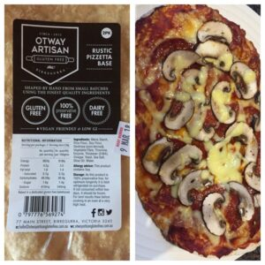 gluten free pizza near Lorne