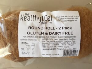gluten and dairy free rolls Geelong