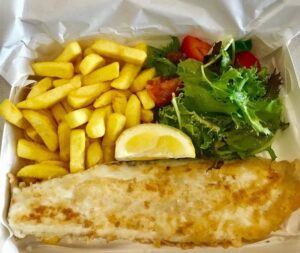 Doncaster gluten free fish and chips