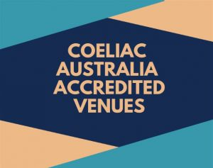Coeliac Australia accredited restaurants