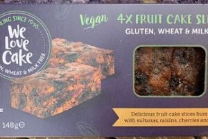 We Love Cake – gluten free fruit cake and brownies
