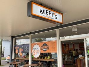 Beefy's pies Queensland