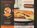Microwave toastie maker by Morphy Richards