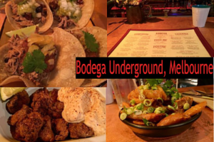 Bodega Underground – 100% GF in Melbourne city