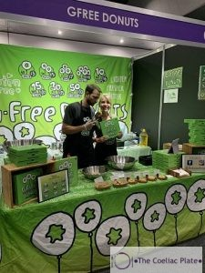 Gfree donuts stall Melbourne