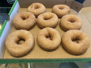 box of gluten free donuts