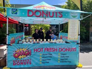 OMG Donuts stall Melbourne