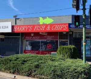 Harry's fish and chips Blackburn South