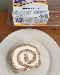 gluten free honey roll