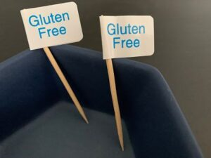 gluten free food flags