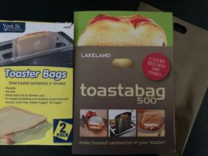 Toaster bags for gluten free bread